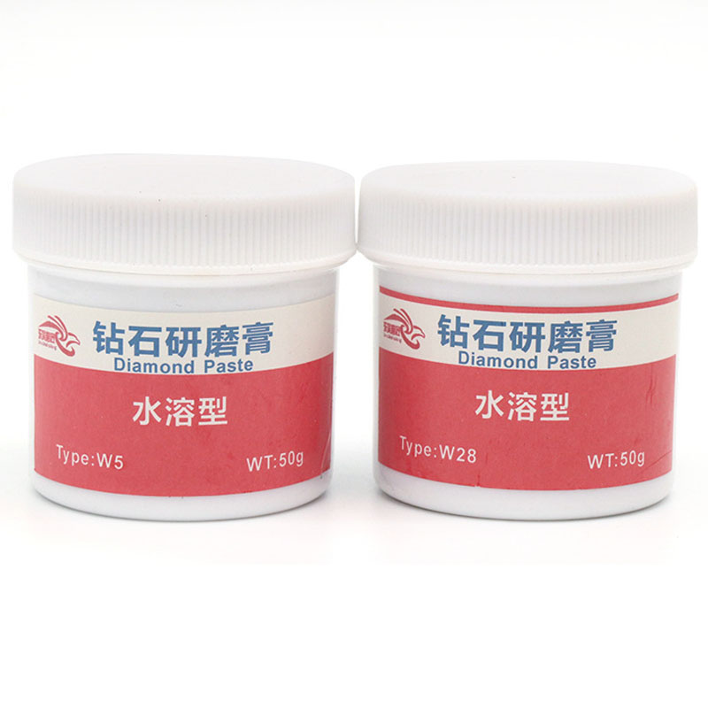 70g/box Diamond Grinding Paste Metal Mould Stainless Steel Mirror Surface Jade Grinding Polishing Paste Water Oil Dual-used