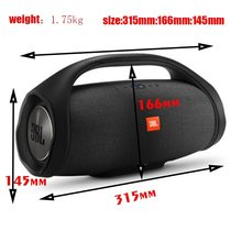 Boombox 2 Portable Wireless Bluetooth Speaker Boom Box Outdoor Subwoofer IPX7 Waterproof Loud Stereo Charge 4 Flip