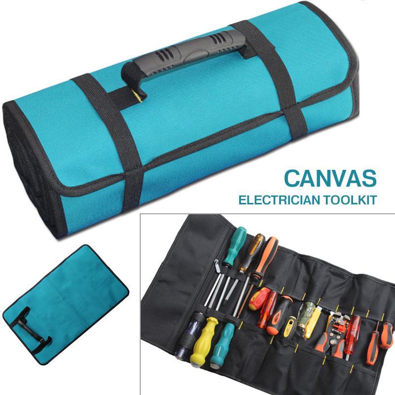 Waterproof Hardware Handbag Blue Oxford Cloth Toolkit Multifunction Utility Bag Tools Bag Durable Wrench Repair Kits Hydropower