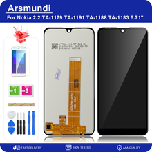"For Nokia 2.2 N2.2 5.71"" LCD Display Touch Screen Digitizer Assembly Replacement LCDs + Gift"