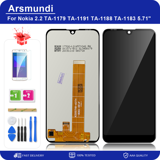 """For Nokia 2.2 N2.2 5.71"""" LCD Display Touch Screen Digitizer Assembly Replacement LCDs + Gift"""