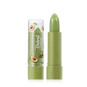 1PC Moisture Lip Balm Long Lasting Natural Velvet Jelly Matte Lipstick Color Mood Changing Lipstick Anti Aging Makeup TXTB1