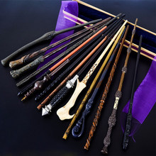 Novo 27 tipos de metal núcleo varinhas mágicas voldmort hermione snape varas mágicas cosplay varinha sem caixa
