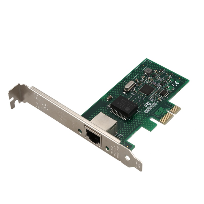 HOT-Network Card For Intel Pcie X1 Intel I210 Gbe Network Card Rj-45 Ethernet Network Card Adapter Controller Nic 10/100/1000M