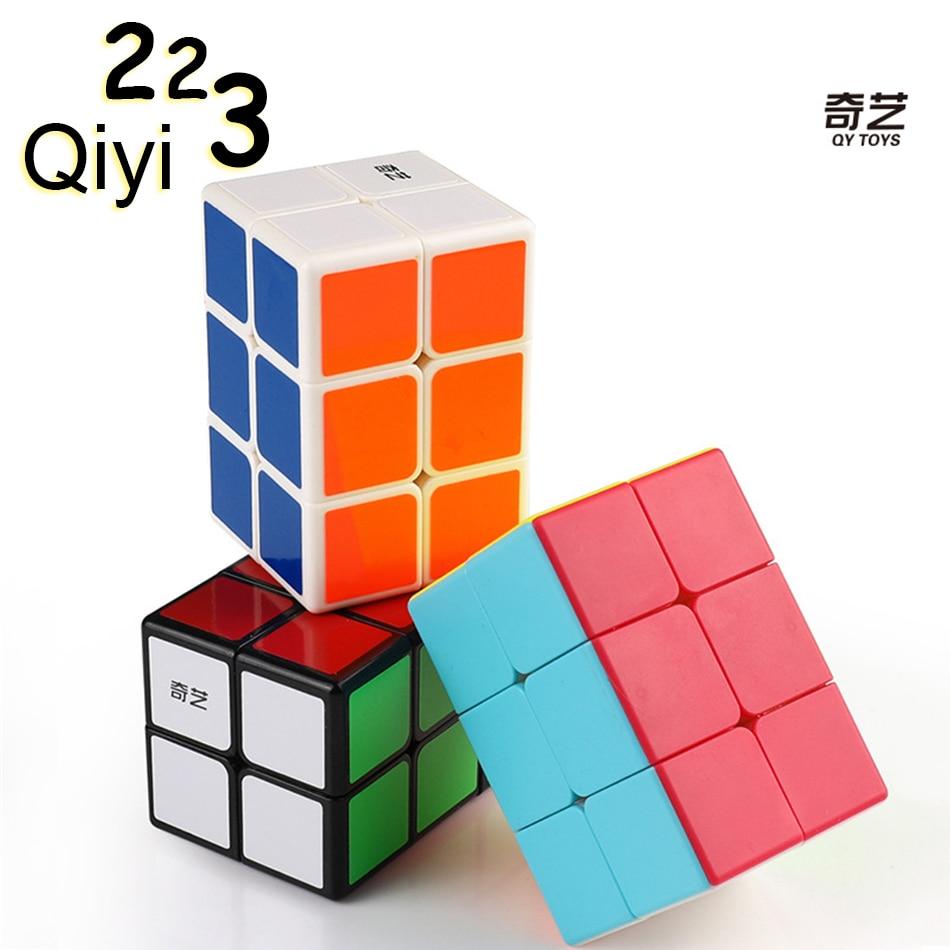 QiYi MoFangGe 2x2x3 Magic Cube 223 Professional Magics Speed Puzzle Cubes Kids Educational Funny Toys For Boys Cubo Magico