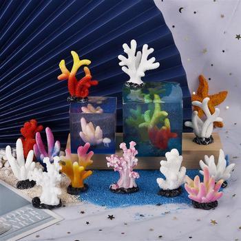 Mini tanque de peces de relleno, resina epoxi decorativa, paisaje, Micro paisaje,...