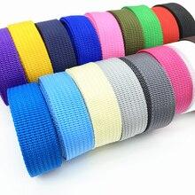 Парусиновая лента для ремней, 2 ярда, 20 мм, нейлоновая тесьма для ремней, Аксессуары для ремней