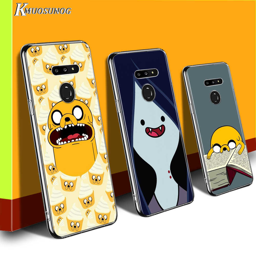 Adventure Time for LG W20 W10 V50S V50 V40 V30 K50S K40S K30 K20 Q60 Q8 Q7 Q6 G8 G7 G6 ThinQ Phone Case