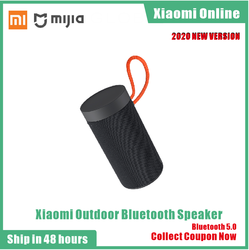 2020 Xiaomi mijia outdoor bluetooth speaker stereo IP55 dustproof waterproof dual microphone noise reduction call Bluetooth 5.0