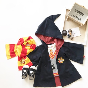 Tonytaobaby Autumn and Winter Dresses New Kids' Children's Wizard Christmas Outfit  Kids Clothes coat 1