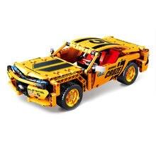 KAZI KY1026 rhubarbe pic ingénierie mécanique retirer série de voitures de sport blocs de construction briques jouets pour enfants garçons cadeau