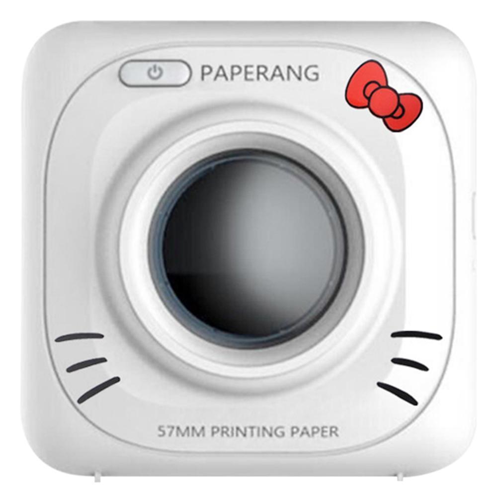 PAPERANG P2 портативный мини-принтер термальный Bluetooth принтер беспроводной термальный фото телефон подключение 300 dpi 1000 мАч Ba - Цвет: PAPERANG P1