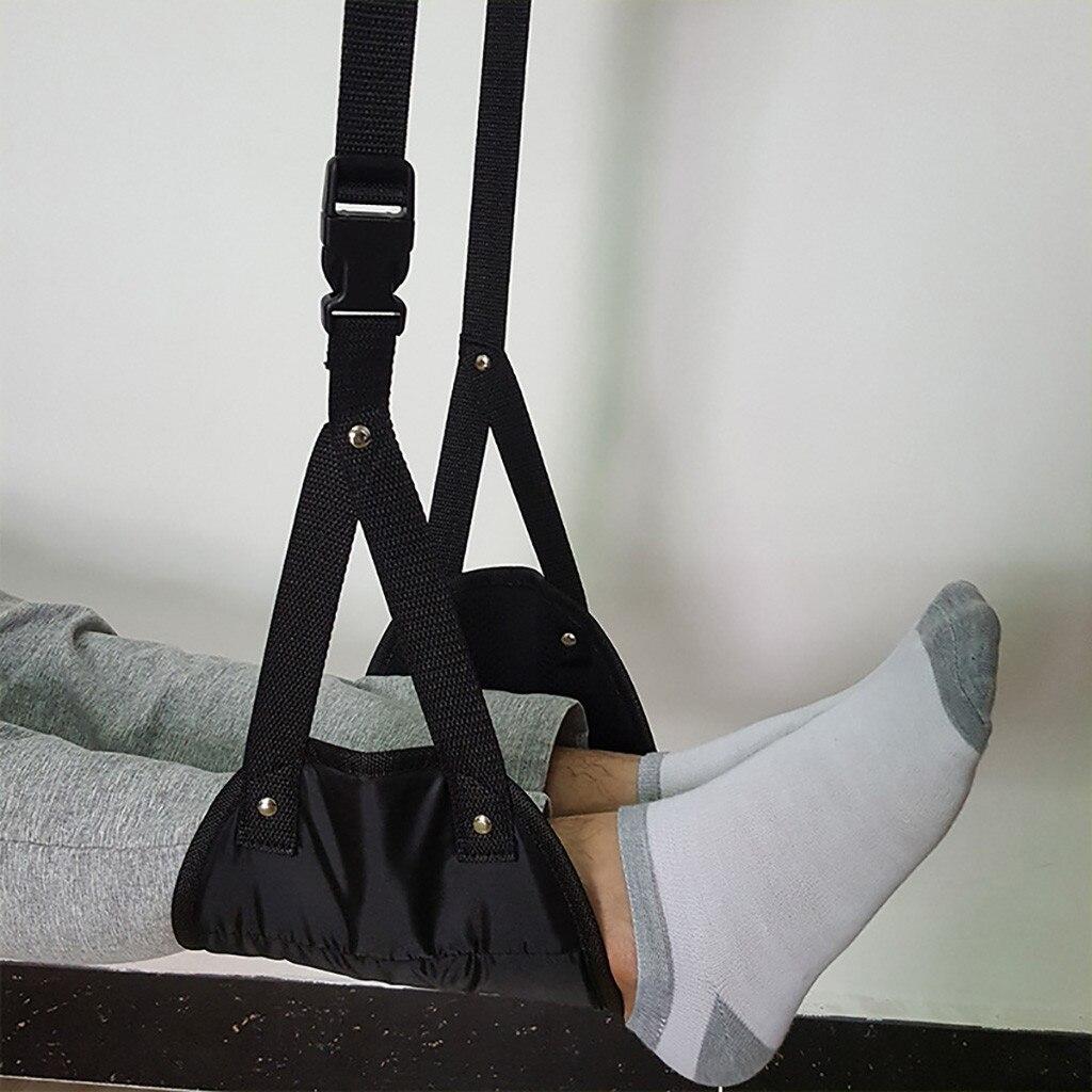 Comfy Hanger Travel Airplane Footrest Hammock Made With Premium Memory Foam Foot Resting Hammock For Travel Office Leg Hammock