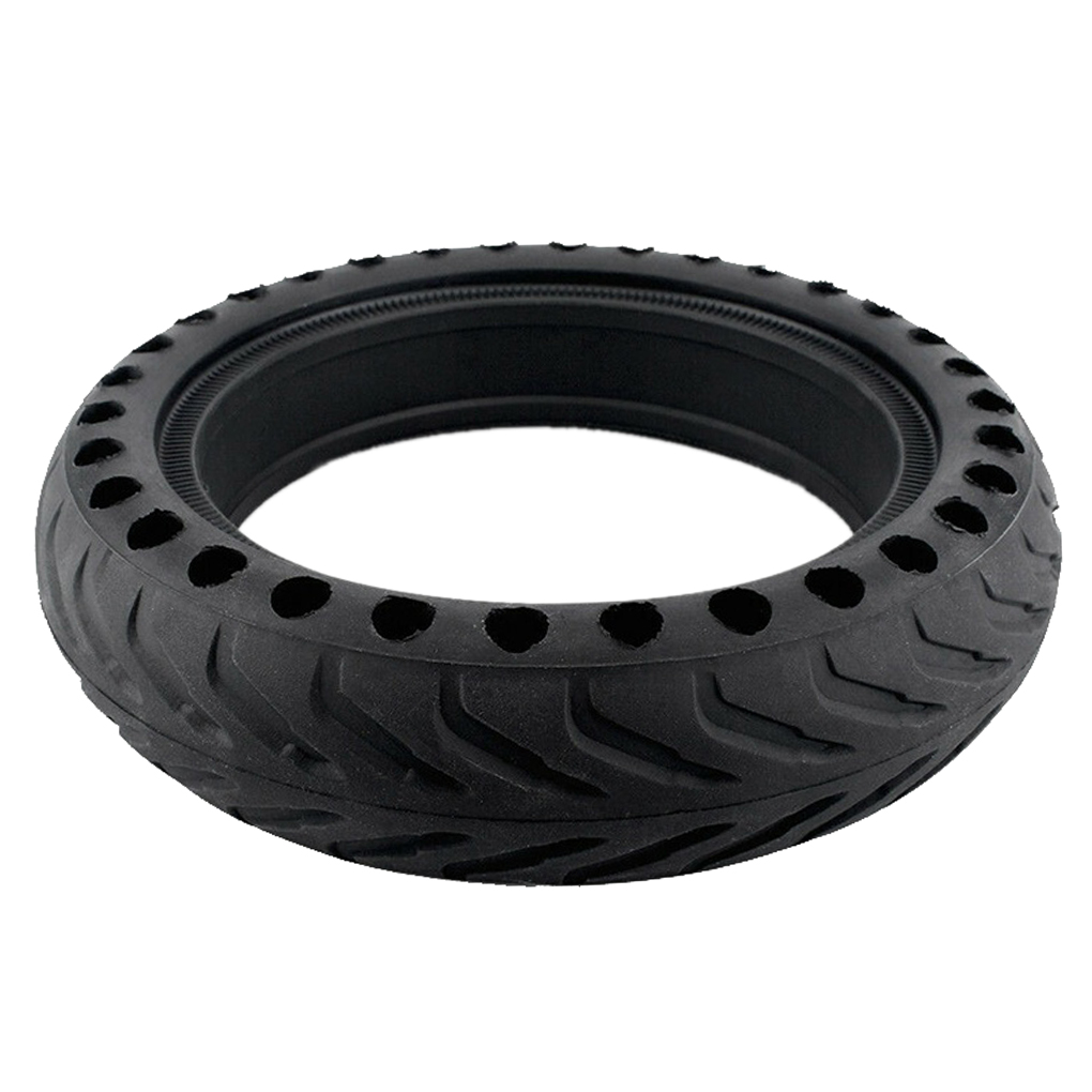 Replacement For Xiaomi M365 Electric Scooter Solid Holes Tire Skateboard Shock Absorber Non-Pneumatic Wheels 8 1/2