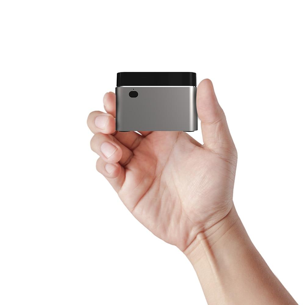 BEBEPC Portable Mini PC Intel Celeron N4100 Quad Cores 8GB LPDDR4 Windows 10 2.4G/5G Dual Band Wifi Bluetooth 4.2 HDMI 2.0 2*USB-1