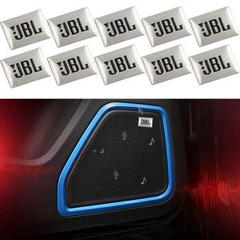 10 Uds coche-estilo de JBL Audio de coche decorar para Kia Ceed Rio Sportage R K1 K2 K3 K4 K5 Ceed Sorento Cerato Optima accesorios de coche