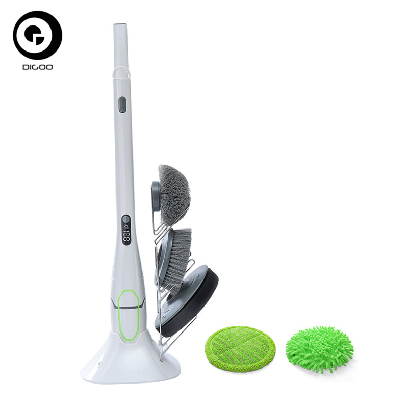 DIGOO DG-QXJ100 Multi-functional Electric Waterproof Cleaning Brush Remove Strong Stains Clean Dust Cleaning Brush 2000mAH