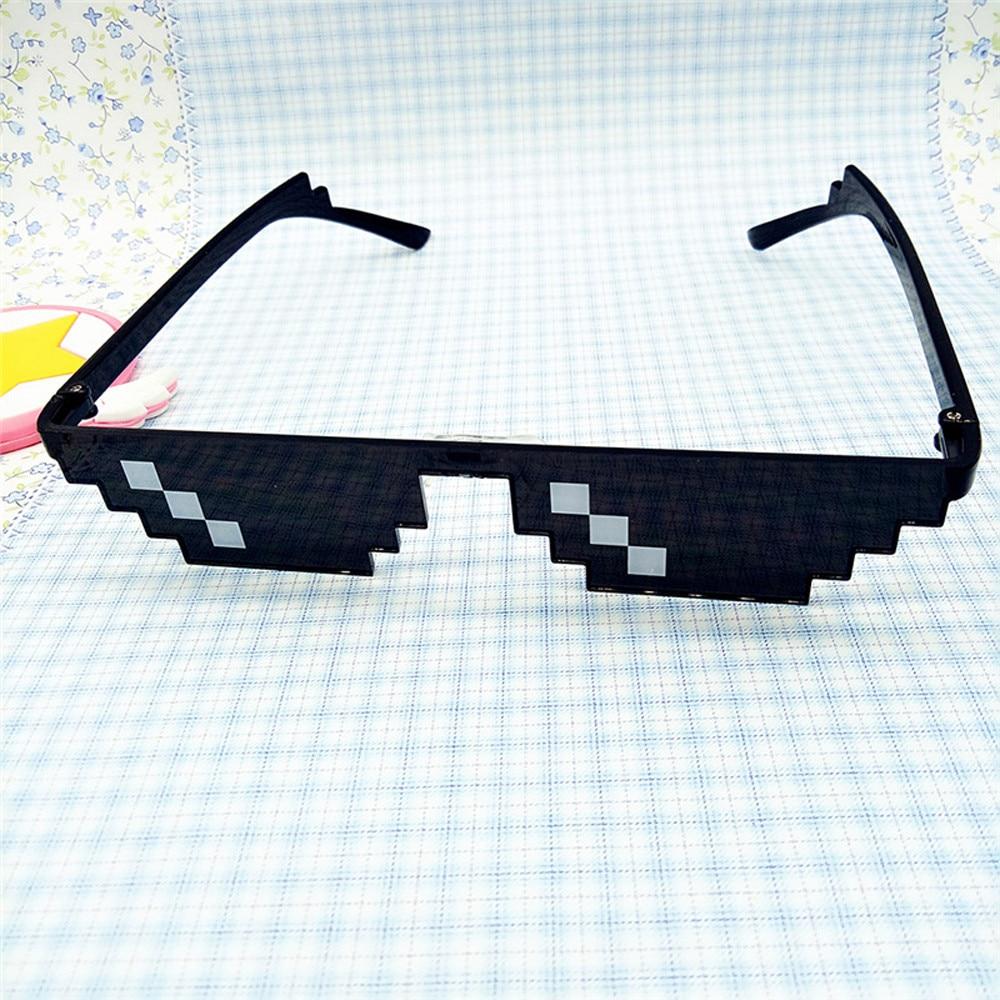 Очки Thug Life 8 Bit Pixel Deal With IT солнцезащитные очки унисекс солнцезащитные очки ToyToys для детей подарок на день рождения Рождественский подарок