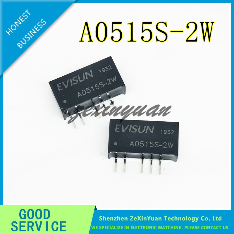 1PCS DC-DC A0515S-2W A0515S SIP5 NEW Boost Power Supply 5V Turn Positive And Negative 15V Isolated Power