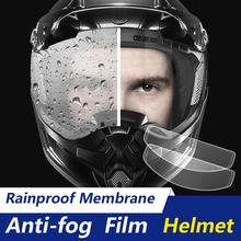Đa Năng Xe Máy Chống Sương Mù Bộ Phim Và Mưa Phim Bền Lớp Phủ Nano Miếng Dán Phim Mũ Bảo Hiểm Phụ Kiện tanie tanio CN (Nguồn Gốc) Đầy đủ khuôn mặt Unisex 8 5*24 5cm anti-fog rainproof