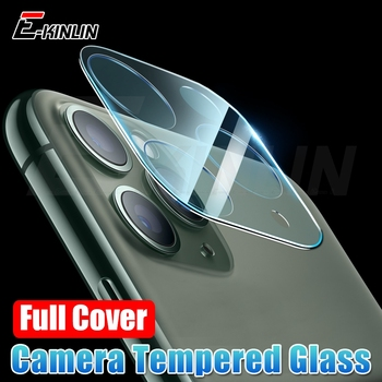 Full Set Coverage Frame Lens Protection Cover For iPhone 11 Pro Max Back Camera Protective Film Screen Protector Tempered Glass