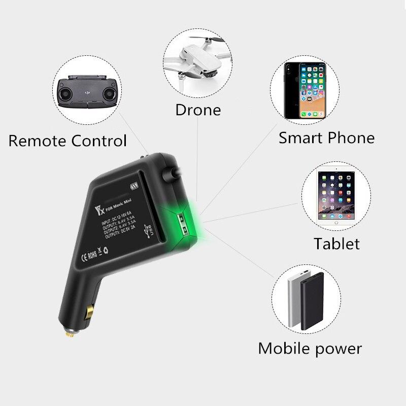 Carregadores de bateria p/ drone