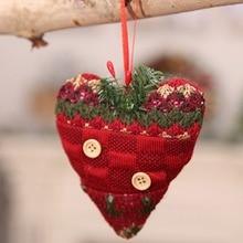 New Christmas Pendants Button Decor Xmas Tree Drop Ornament Decorative Hanging Holiday