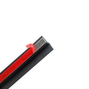 Image 2 - Tür dichtung streifen auto gummi reverse Z Typ Noise Isolierung Dichtungsdichtung Gummi Streifen Trim Auto Gummi Dichtung streifen