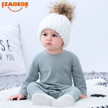 IZABEBE Baby Boys Girls Romper Cotton Long Sleeve Jumpsuit Infant Clothing Autumn Newborn Baby Clothes izabebe baby boys girls romper cotton long sleeve jumpsuit infant clothing autumn newborn baby clothes