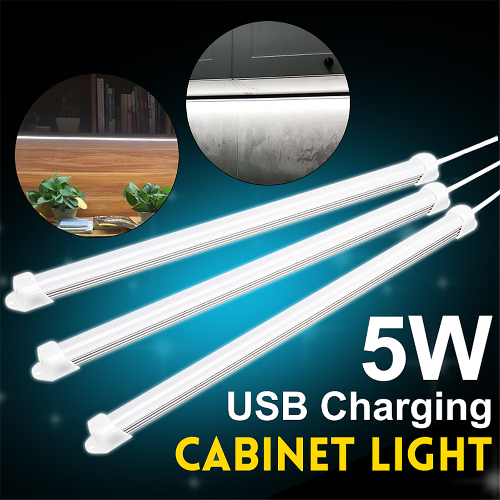 LED Night Lights For Under Cabinet Closet Kitchen Cupboard Shelf Lighting For Counter L9 #2