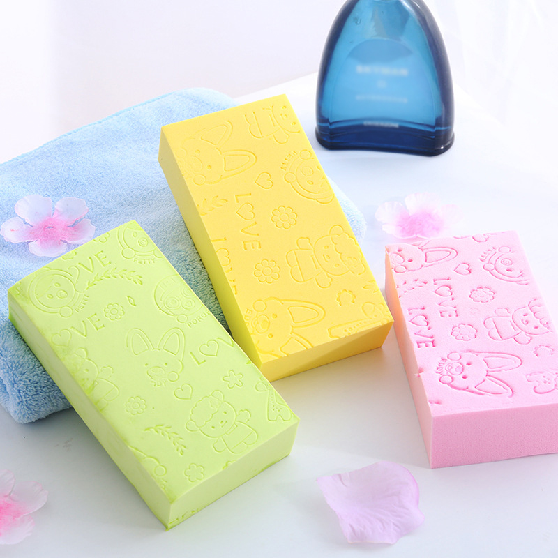 Child Rubbing Artifact Back Baby Baby Adult Bath Rubbing Gray Rubbing Mud Strong Bath Towel Rubbing Back Sponge Male Bath Sponge