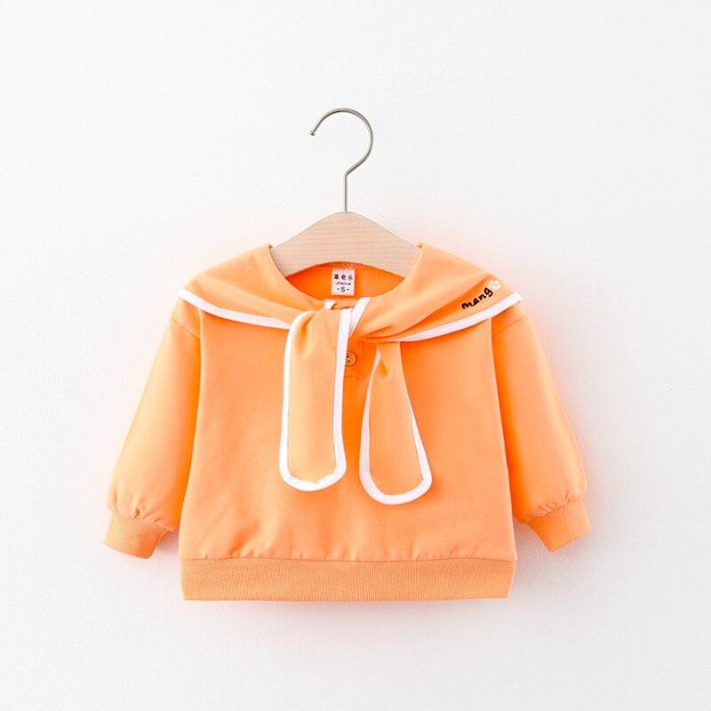 bebê crianças hoodies camisolas de algodão gravata