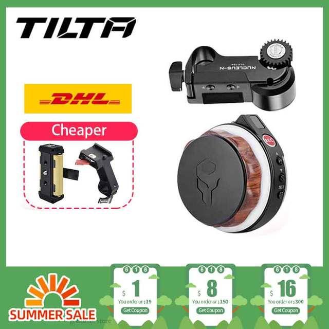 Tilta Nucleus N Nano Follow Focus Motor Wireless Lens Control System Hand Wheel for Gimbal DJI Ronin S Zhiyun Crane 2 Nucleus N