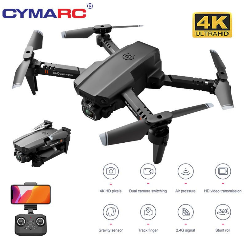 CYMARC XT6 Mini Drone 4K HD Camera 1080P Wifi FPV Camera Drone RC Drone Altitude Hold Foldable RC Quadcopter Dron M73 KF611|RC Quadcopter| - AliExpress