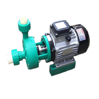 pp engineering Plastics Corrosion resistant acid and alkali Reinforced preservative pump FP20-15-60 qby 15 corrosion resistant double way pneumatic diaphragm pump 0 1m3 h