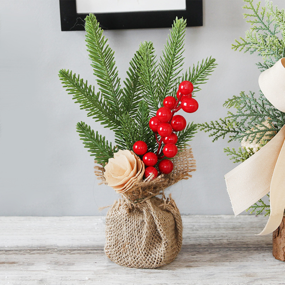 Gift Garden Potted Plants Artificial