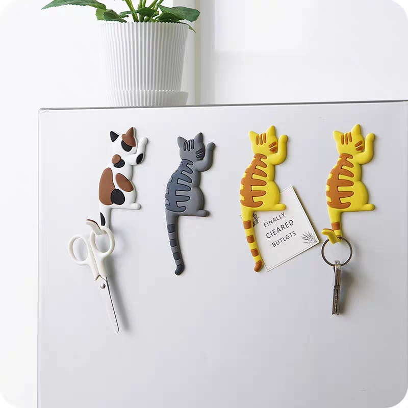 Magnetic Cartoon Cat Home The Magnets on The Babys Fridge Magnet Decorative Souvenir Magnets for Refrigerators for Hook|Fridge Magnets| - AliExpress