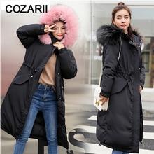 Winter jacket women Long winter coat ladies warm  womens wadded down outwear chaqueta mujer parka
