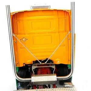 Image 3 - Metall Auspuffrohr 1:14 DIY TAMIYA Scania R470 R620 Modell Traktor Lkw DIY Modell RC Auto Teile
