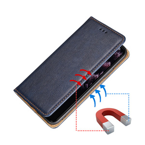 Image 3 - Business Leather Case For Motorola Moto One Vision Pro Power Macro Hyper Fusion Plus Fusion Action Magnetic Flip Cover