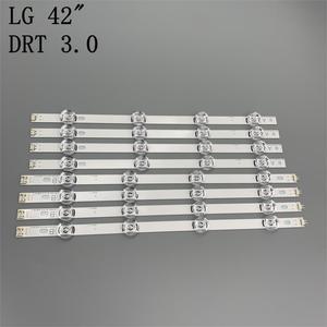 Image 3 - New 8pcs/set LED strip Replacement for LG LC420DUE 42LB5500 42LB5800 42LB560 INNOTEK DRT 3.0 42 inch A B 6916L 1710B 6916L 1709B