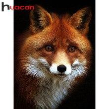 Huacan Neue Voll Platz Diamant Malerei Fuchs Kit 5D DIY Diamant Stickerei Mosaik Tier Dekorationen Hause