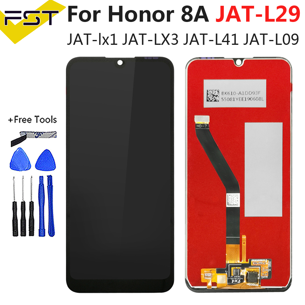 "6.09"" Black For Huawei Honor 8A Honor 8A Pro JAT-L29 LCD Display+Touch Screen Digitizer Assembly Replacement Parts+Tools"