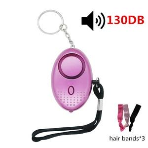 Image 1 - Personal Alarm With LED Light Alert Scream 130DB Self Defense Safety Attack Emergency Alarms For Women Kids Elderly Self  Alarm
