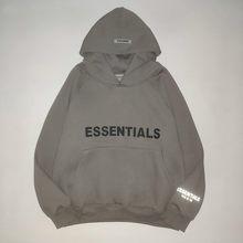 100% Cotton Hoodie, Oversized Baggy Sportswear Zip, Essentials, Kanye West, Jerry, Valentine, 1: 1