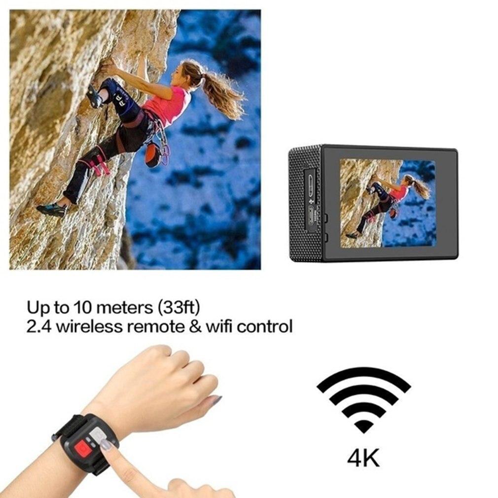 H2ada836ae0f5471d88cb33557e57ed9aE Pro Cam Sport Action Con Telecomando Camera 4k Videocamera Wifi Ultra Hd 16mp DVR Sports Outdoor Diving Bicycle Camcorder