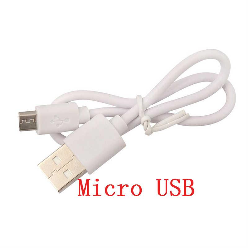 2 Chiếc Cáp USB 2A Sạc Nhanh USB Type C Cáp 30 Cm Sạc Micro USB Dây Cho Samsung S7 xiaomi Di Động Android Dây Cáp Điện Thoại