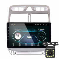 2din Android 8.1 car DVD multimedia player for Peugeot 307 307CC 307SW 2004-2013 car radio GPS navigation WiFi Bluetooth player