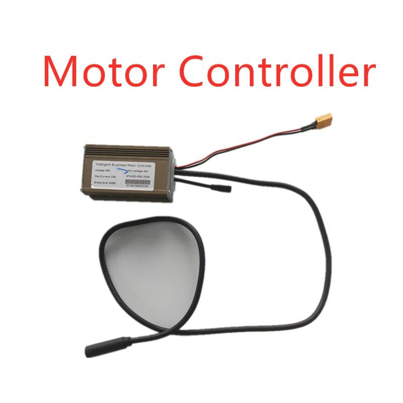 Contrôleur de moteur sans brosse Intelligent pour Scooter électrique à roue large Mercane 48V 15A niveau de frein EABS