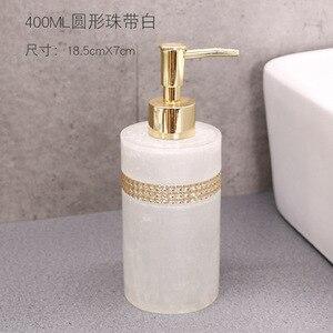 Image 3 - 400ml, 500ml, 800ml Resin European Shower Gel Soap Dispenser Lotion Bottle Hand Sanitizer Shampoo Moisture Press bottle